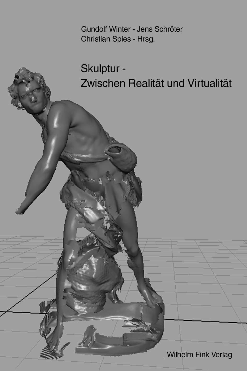 Abb. 7: Alternativer Coverentwurf: Skulptur. Zwischen Realität und Virtualität. © Grafik                         entstammt dem Projekt, 2017.