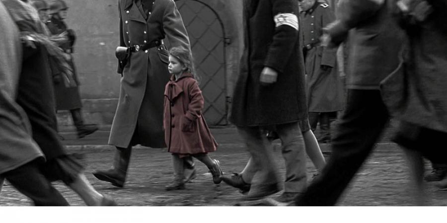 Abb 4: Ergebnisse einer Clusteranalyse eines                            Frames aus Schindler's List (USA 1993, R.: Steven                            Spielberg). Zitiert nach DVD Schindlers Liste                            (Universal Pictures Germany, 21. Oktober 2004).