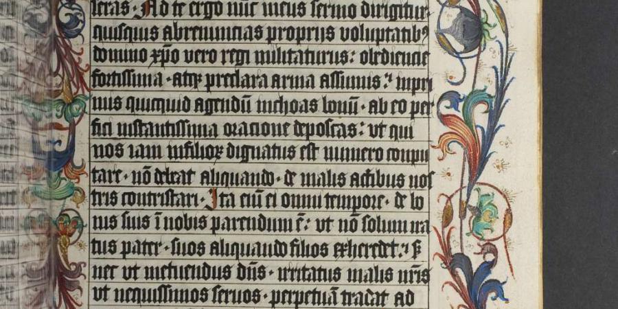 Abb. 1: Herzog August Bibliothek Wolfenbüttel:                            Cod. Guelf. 95 Helmst., fol. 129r (rechts) CC BY-SA 3.0. [online]