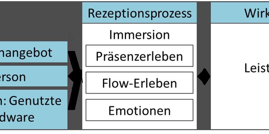 Abb. 3: Erwarteter Zusammenhang zwischen                             Medienangebot, Person, Situation, Rezeptionsprozessen und Wirkung (Grafik:                             Katharina Schuster, 2013).
