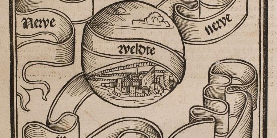 Abb. 1: Titelblatt - Newe                              vnbekanthe landte. HAB-Signatur: A: 156.10 Quod. 2° (2).                           Digitalisat-PURL: http://diglib.hab.de/drucke/156-10-quod-2f-2s/start.htm?image=00001