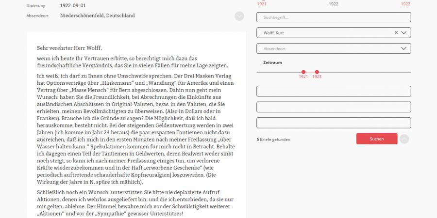 Abb. 3: Briefansicht. Entwurf (Daniel Dutkowski,                                September 2015).